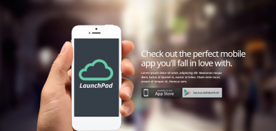 Launchpad - Responsive App Landing Page