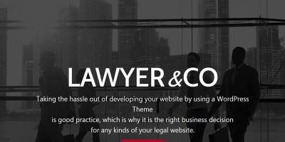 Lawyer - WordPress Theme for Attorneys and Legal Firms