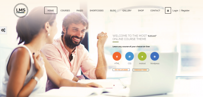 LMS - Learning Management System, Education LMS WordPress Theme