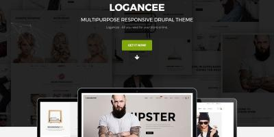 Logancee - Multipurpose Responsive Drupal Theme
