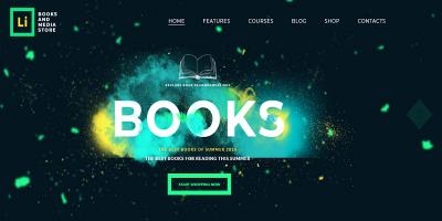 Lorem Ipsum - Books & Media Store