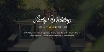 Lovely Wedding - Responsive Wedding Template