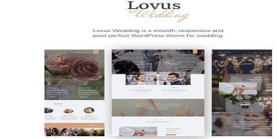 Lovus - Wedding Planner WordPress Theme