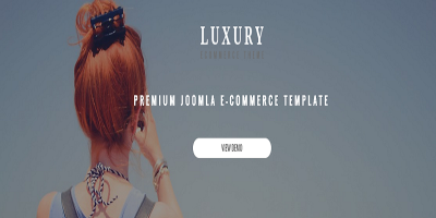 Luxury - Responsive Virtuemart Theme