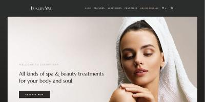 Luxury Spa - Beauty Spa & Wellness Resort Theme