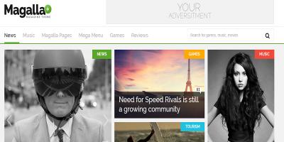 Magalla Magazine, News and Business Blog HTML
