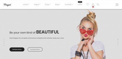 Magazi - Multipurpose e-Commerce Joomla Template