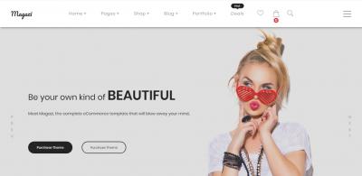 Magazi - Multipurpose e-Commerce Joomla Template