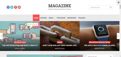 Magazine - WordPress Theme
