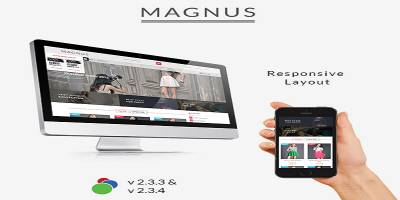 Magnus - Responsive osCommerce Theme
