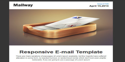 Mailway - Responsive E-mail Template