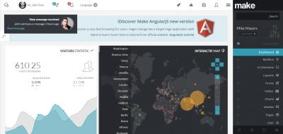 Make - Admin Template & Builder - HTML & AngularJS