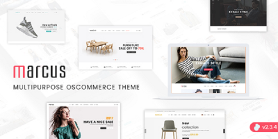 Marcus - Premium Multipurpose osCommerce Theme