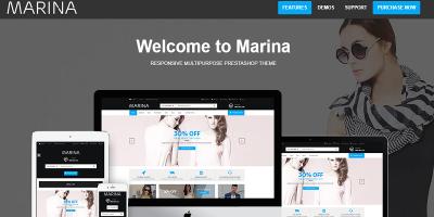 Marina - Clean Fashion Store Responsive Prestashop Theme