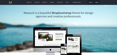Measure Responsive - Business Theme