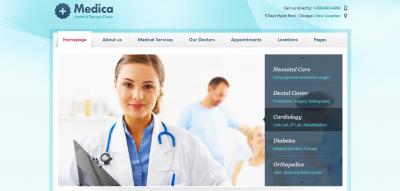 Medica - Doctor, Dentist & Health Clinics