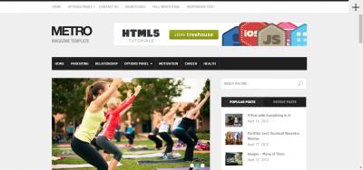 Metro - Premium Magazine WordPress Theme