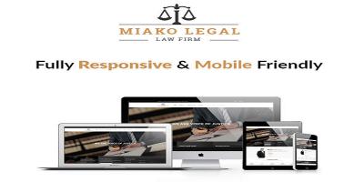 Miako Legal - Law Firm Joomla Template