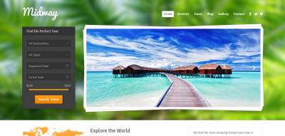 Midway - Responsive Travel WP Theme