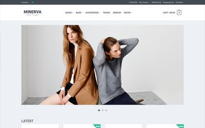 Minerva - Responsive eCommerce Template