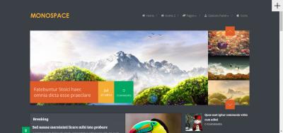 Monospace - Blog WordPress Theme