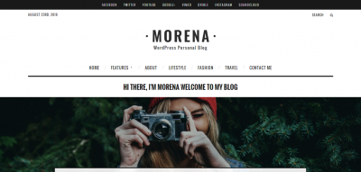 Morena - Clean Responsive WP Blog Theme