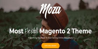Moza - Minimal Magento 2 Theme