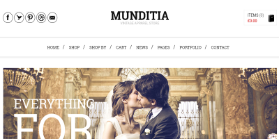 Munditia - Responsive Ecommerce WordPress Theme