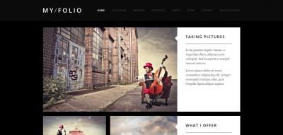 MY FOLIO : Responsive Photography Joomla