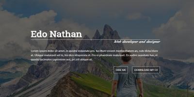 NAFIDA- Personal Business Card Template