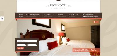 Nice Hotel - WordPress Theme