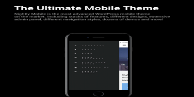 Nightly Mobile - The Ultimate Mobile Theme (33 different styles)