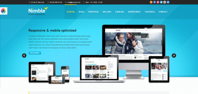 Nimble - Multipurpose Retina Ready WordPress Theme