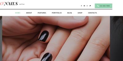 O'Nails - Nail Bar & Beauty Salon WordPress Theme