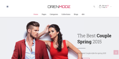 Orenmode - Creative Multi-Purpose Commerce Theme