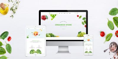 Organick - A Fresh Natural Organic Store, Farm and Bakery Prestashop Theme V1.6 and V1.7