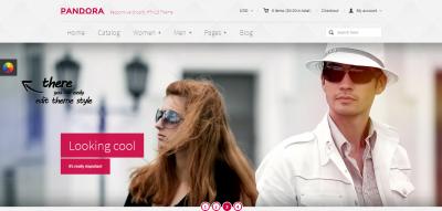 Pandora - Responsive Shopify HTML5 Theme