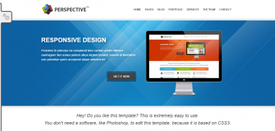 Perspective - Responsive HTML5 & CSS3 Drupal Theme