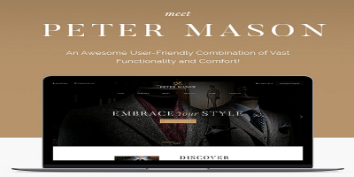 Peter Mason - Custom Tailoring and Clothing Store