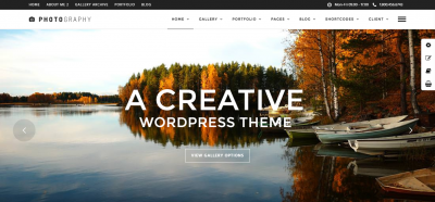 Photography - Responsive Photography Theme