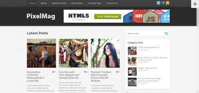Pixelmag - WordPress Magazine Theme