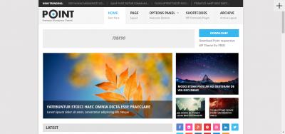 Point - Multipurpose Responsive WordPress Theme