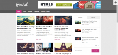 Portal - Magazine WordPress Theme