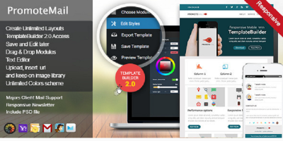 PromoteMail - Responsive E-mail Template