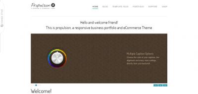 Propulsion - responsive business & eCommerce