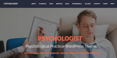 Psychologist - Psychological Practice WP Theme