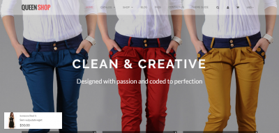 Queen - Responsive Shopify Theme