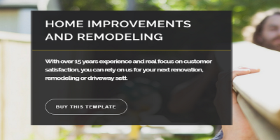Renovate - Construction Renovation Joomla Template