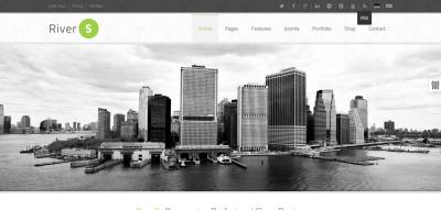 RiverS Responsive Multi-Purpose Joomla Template
