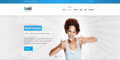 Roki - Multi-Purpose Responsive Theme